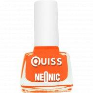 Лак для ногтей «Quiss» Neonic, тон 02, 6 мл.