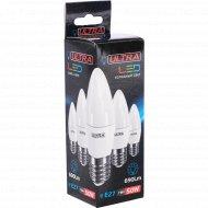 Лампа светодиодная «Ultra» LED С37 7W E27 4000K