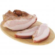 Щековина свиная «Домашняя» копчено-вареная, 1 кг., фасовка 0.35-0.55 кг