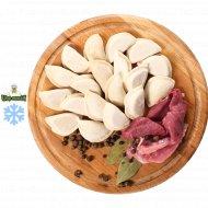 Полуфабрикат Пельмени со свининой и говядиной замороженные 1/400.