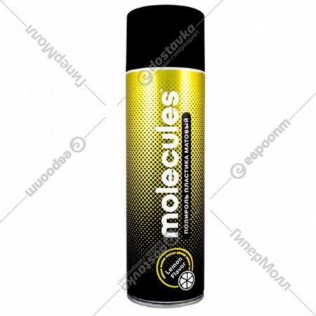 Полироль пластика «Molecules» матовый, лимон, MLS012, 650 мл.