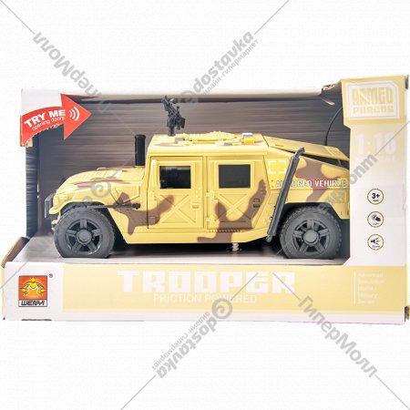 Детская инерционная машинка «Военный джип».