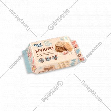 Крекер с протеином «Royal Cake» с гималайской солью и семенами чиа, 84 г.