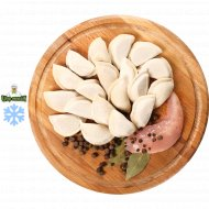 Полуфабрикат Пельмени домашние с индейкой замороженные, 1/400.