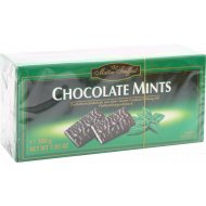 Шоколад «Chocolate Mints» с мятной начинкой в пластинках, 200 г.
