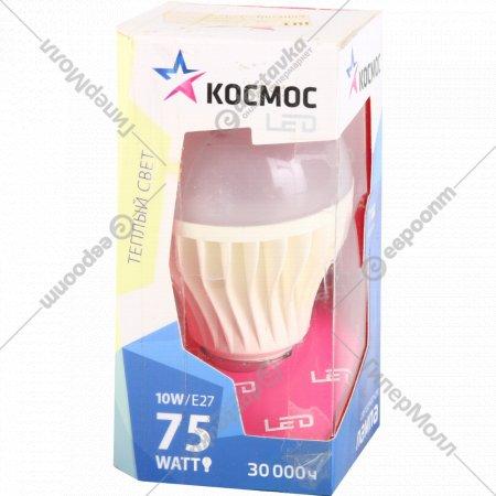 Лампа LED A60 10W E27 3000K.