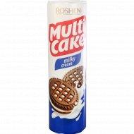 Печенье сахарное «Multicake» с молочно-кремовой начинкой, 180 г.