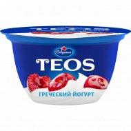 Йогурт греческий «Teos» вишня, 2%, 140 г.
