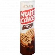 Печенье сахарное «Multicake» с начинкой какао, 180 г.