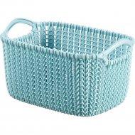 Корзина «Curver» knit rect xs, 226395, синий, 3 л, 250x175x140 мм.