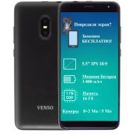 Смартфон «Venso» CX-551, чёрный.