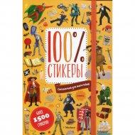 Книга «Специально для мальчиков. 100% стикеры».