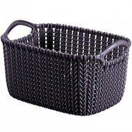 Корзина «Curver» knit rect xs, 230120, 3 л, 250x175x140 мм.
