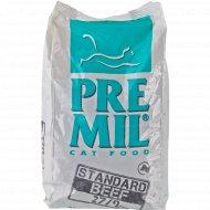 Полнорационный корм «Premil» для кошек любого возраста, говядина, 2 кг.