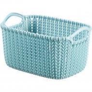 Корзина «Curver» knit rect xs, 230778, зеленый, 3 л, 250x175x140 мм.