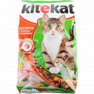 Корм для кошек «Ktekat» с курицей и индейкой, 1.9 кг.