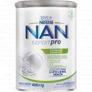 Смесь сухая молочная «NAN» тройной комфорт, c рождения, 400 г.