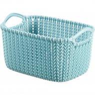 Корзина «Curver» knit, 03674-Х60-00, голубой, 8 л, 30x22x17 см.