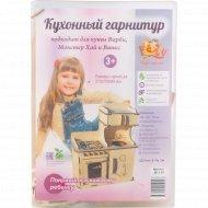 Конструктор «Polly» Кухонный гарнитур для больших кукол.