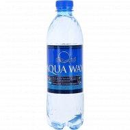 Вода минеральная «Aqua way» негазированная столовая, 0.5 л