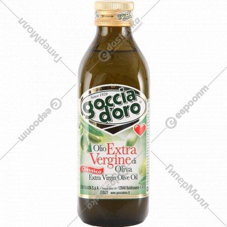 Масло оливковое «Goccia D'oro» нерафинированное, 0.5 л.