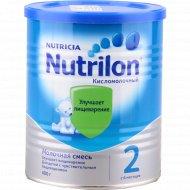 Молочная смесь «Nutrilon 2» кисломолочная, 400 г.