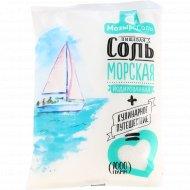Соль морская пищевая «Salero» йодированная, 1 кг.