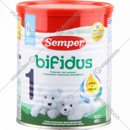 Смесь молочная «Semper 1» для детей с 0 месяцев, 400 г.