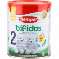 Смесь «Semper 2» bifidus, для детей с 6 месяцев, 400 г.
