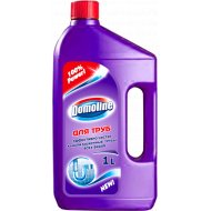 Средство «Domoline» для чистки стоков и канализационных труб 1 л.