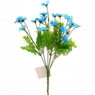 Цветок искусственный «Незабудка» голубой, 28 см.