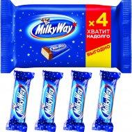 Шоколадный батончик «Milky Way» 4 х 26 г.