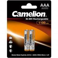 Комплект аккумуляторов «Camelion» NH-AAA1100BP2, 2 шт
