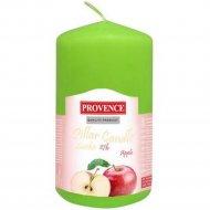 Свеча «Яблоко» ароматизированная, 11x6.5 см.