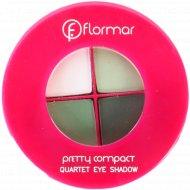 Компактные тени-квартет «Flormar» Pretty,тон 044, 4 г.