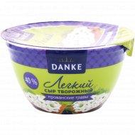 Сыр творожный «Danke» легкий, прованские травы, 40%, 135 г