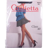 Колготки женские «Giulietta» Class, 40 den, размер 4, Nero