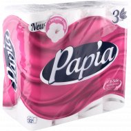 Бумага туалетная «Papia» с экстрактом хлопка, 32 рулона