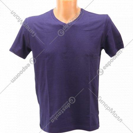 Фуфайка мужская «V-neck» темно-синий.