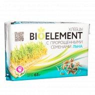 Хлебцы хрустящие «Биоэлемент» с пророщенными семенами льна, 65 г
