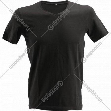 Фуфайка мужская «V-neck» черный.
