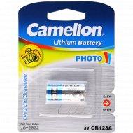 Элемент питания «Camelion» CR123А-BP1.