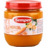 Пюре «Semper» морковь, 125 г.