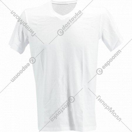 Фуфайка мужская «V-neck» белый.