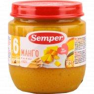 Пюре «Semper» манго, 125 г.