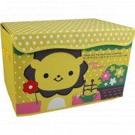 Коробка для хранения «Смайл» прямоугольная, 41х25х25 см.