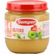 Пюре «Semper» яблоко, 125 г.