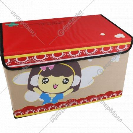 Коробка для хранения «Веселые облака» прямоугольная, 41х25х25 см.