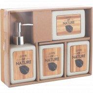 Набор для ванной «Natural» 4 предмета.