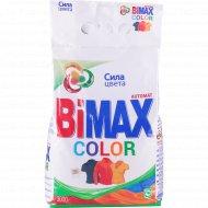 Порошок стиральный «BiMax» color automat, 3 кг.